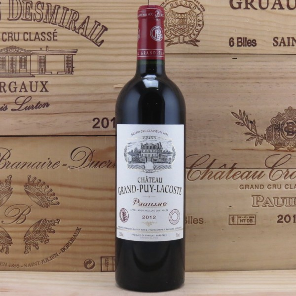 2012 Chateau Grand Puy Lacoste