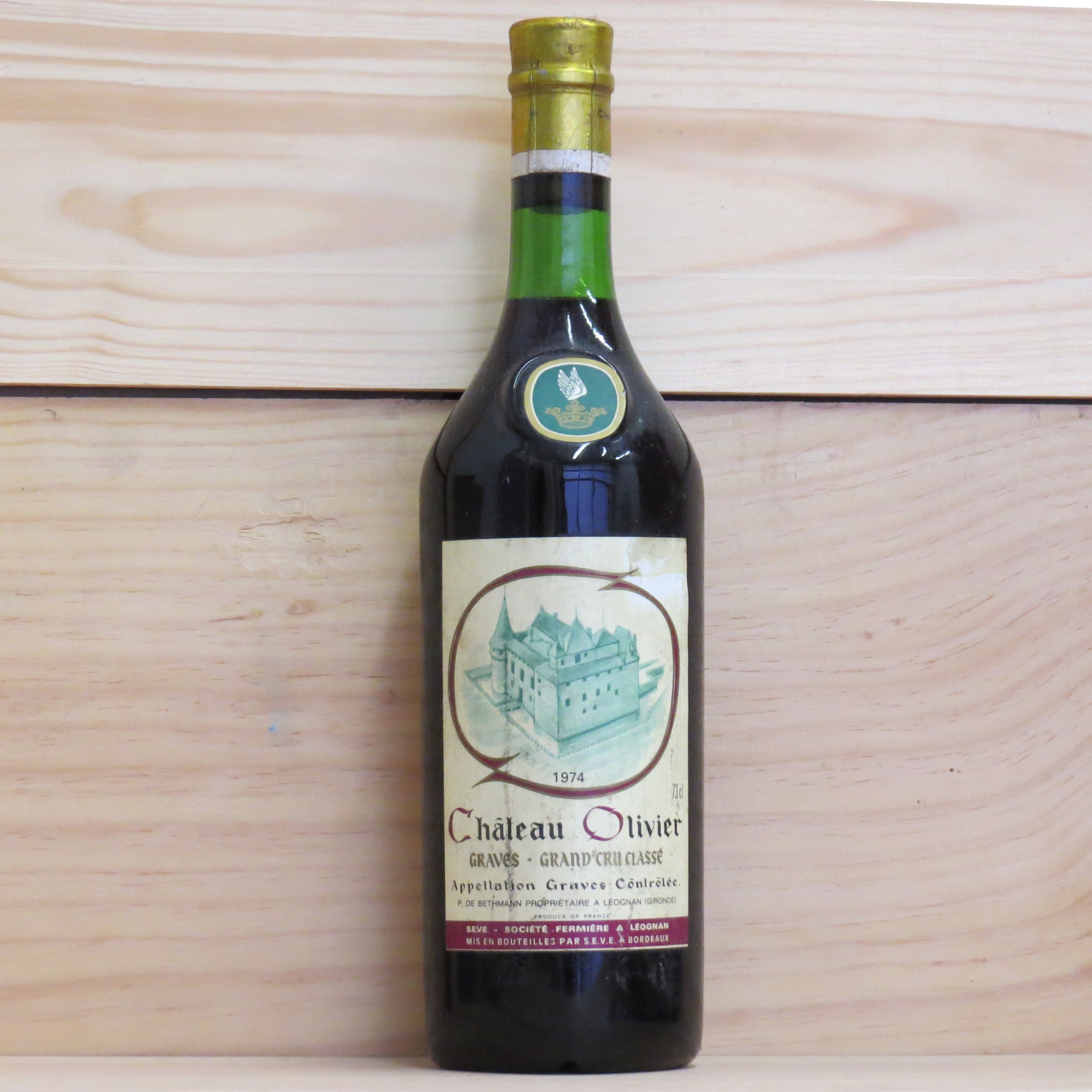 1974 chateau olivier wine 1974 1970 1979 select for Chateau olivier