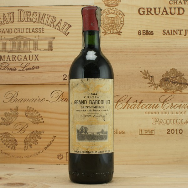 1964 Chateau Grand Bardoulet